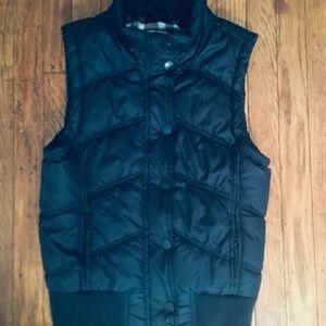 Aeropostale Girl's Navy Puffer Vest